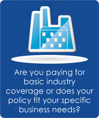 Reading PA business insurance graphic
