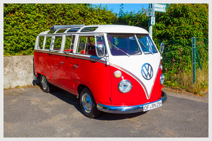 vw bus classic car insurance from Reading, PA