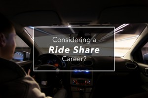 Considering a career in Ride Sharing?